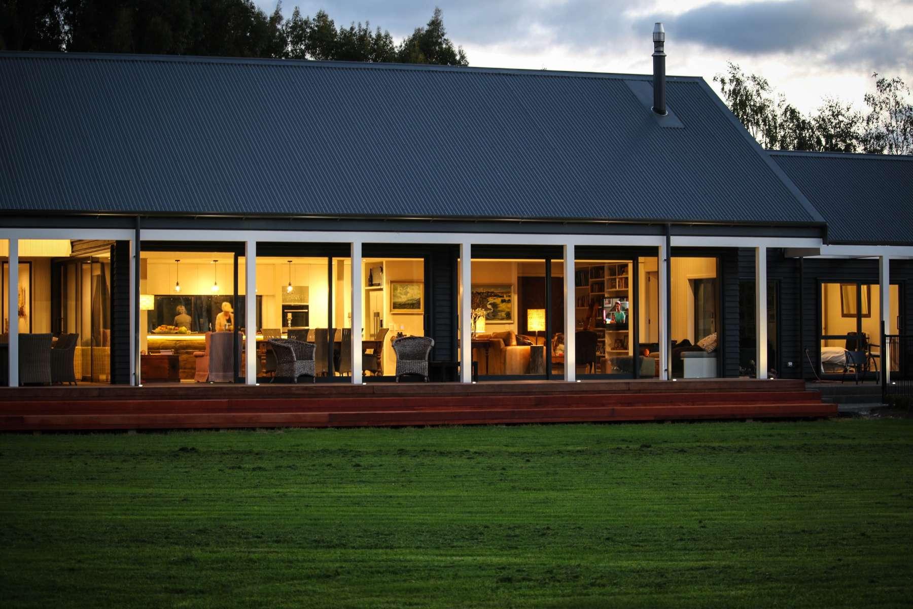 modern barn style house nz